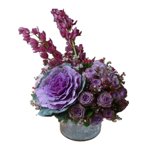 Purple Thalia Classic Arrangement from Clea Flower Boutique