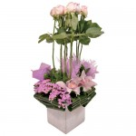 Lushes Lavender Eclectic Arrangement from Clea Flower Boutique