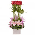 Tall Paradise Eclectic Arrangement from Clea Flower Boutique