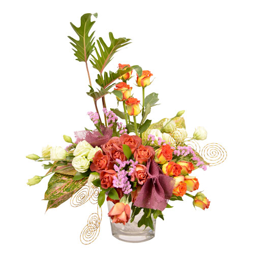Burst of Summer Eclectic Arrangement from Clea Flower Boutique