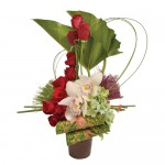 Peaceful Zen Eclectic Arrangement from Clea Flower Boutique