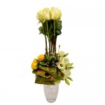Pure Elegant Eclectic Arrangement from Clea Flower Boutique