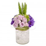 Purple Forest Eclectic Arrangement from Clea Flower Boutique