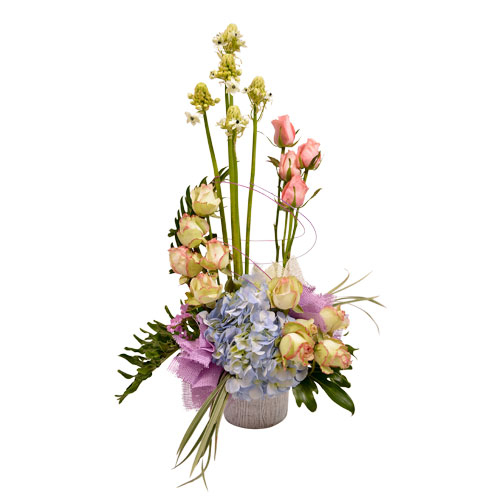 Love's Tapestry Eclectic Arrangement from Clea Flower Boutique