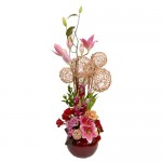 Delightful Blooms Eclectic Arrangement from Clea Flower Boutique