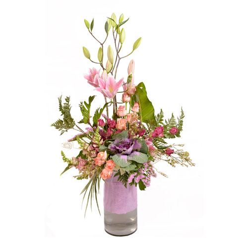 Wildflower Whimsy Eclectic Arrangement from Clea Flower Boutique