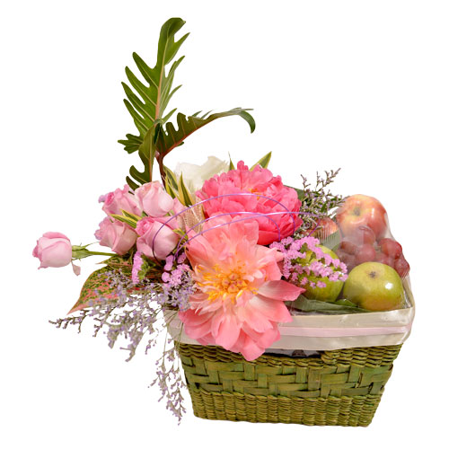 Basket of Joy Hamper Arrangement from Clea Flower Boutique