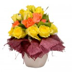 Harvest Blooms Eclectic Arrangement from Clea Flower Boutique