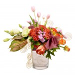 Autumn Sunrise Eclectic Arrangement from Clea Flower Boutique