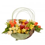 Fruitful Delight Hamper Arrangement from Clea Flower Boutique